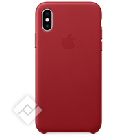 APPLE LEATH CASE RED IPHONE XS