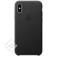 APPLE LEATHER CASE BLACK XS