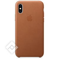 APPLE LEATHER CASE BROWN XS