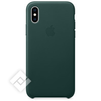 APPLE LEATHER CASE GREEN XS