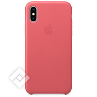 APPLE LEATHER CASE PINK XS