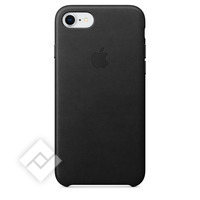 APPLE LEATHER COVER BLACK IPHONE 7,8