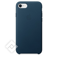 APPLE LEATHER COVER COSMOS BLUE IPHONE 7,8