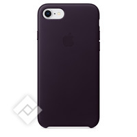 APPLE LEATHER COVER DARK AUBERGINE IPHONE 7,8