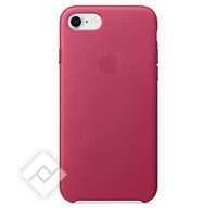 APPLE LEATHER COVER FUCHSIA PINK IPHONE 7,8