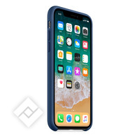 APPLE IPHONE X SILICONE CASE - BLUE COBALT