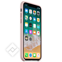 APPLE IPHONE X SILICONE CASE - PINK SAND
