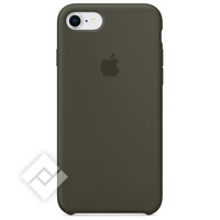 APPLE SILICONE COVER DARK OLIVE IPHONE 7,8