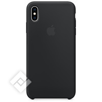 APPLE SILICONE CASE BLK XS MAX