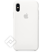 APPLE SILICONE CASE WHITE XS