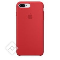 APPLE SILICONE COVER RED IPHONE 7 PLUS, 8 PLUS
