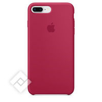 APPLE SILICONE COVER ROSE RED IPHONE 7 PLUS, 8 PLUS