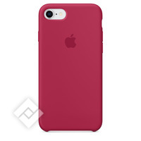 APPLE SILICONE COVER ROSE RED IPHONE 7,8