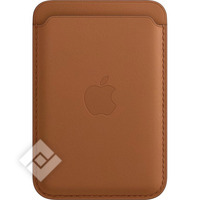 APPLE IPHONE LEATHER WALLET WITH MAGSAFE - BROWN