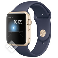 APPLE WATCH 2015 42MM GOLD ALUMINIUM BLUE