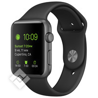 APPLE WATCH 2015 42MM ALUMINIUM SPORT BLACK