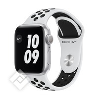 APPLE WATCH NIKE SERIES 6 (2020) GPS 40MM SILVER ALU, PURE PLATINIUM/BLACK NIKE SPORT BAND (M00T3NF/A)