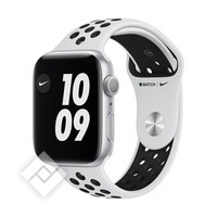 APPLE WATCH NIKE SERIES 6 (2020) GPS 44MM SILVER ALU, PURE PLATINIUM/BLACK NIKE SPORT BAND (MG293NF/A