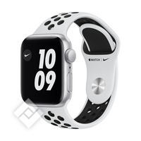 APPLE WATCH NIKE SE (2020) GPS 40MM SILVER ALU, PURE PLATINIUM/BLACK NIKE SPORT BAND (MYYD2NF/A)