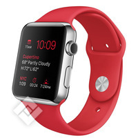 APPLE WATCH SERIES 2015 42 MM RED SPORT BAND