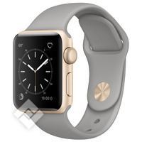 APPLE WATCH SERIES 2 2016 38MM GOLD ALUMINIUM CASE CONCRETE SPORT BAND
