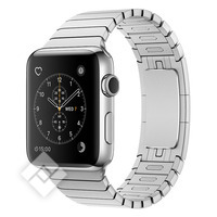 APPLE WATCH SERIES 2 2016 38MM STAINLESS STEEL CASE SILVER LINK BRACELET