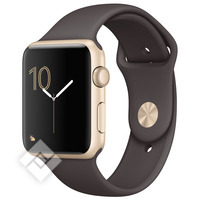 APPLE WATCH SERIES 2 2016 42MM GOLD ALUMINIUM CASE COCOA SPORT BAND