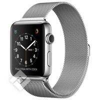 APPLE WATCH SERIES 2 2016 42MM STAINLESS STEEL CASE SILVER MILANESE LOOP