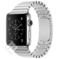 APPLE WATCH SERIES 2 2016 42MM STAINLESS STEEL CASE SILVER LINK BRACELET