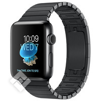 APPLE WATCH SERIES 2 2016 42MM SPACE BLACK STAINLESS STEEL CASE SPACE BLACK LINK BRACELET