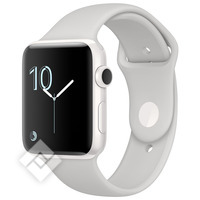 APPLE WATCH SERIES 2 2016 42MM WHITE CERAMIC CASE CLOUD SPORT BAND