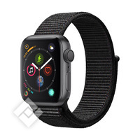 APPLE WATCH SERIES 4 GPS, 40MM SPACE GRAY ALUMINIUM CASE WITH BLACK SPORT LOOP