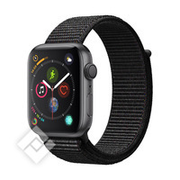 APPLE WATCH SERIES 4 GPS, 44MM SPACE GRAY ALUMINIUM CASE WITH BLACK SPORT LOOP