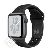 APPLE WATCH NIKE+ SERIES 4 GPS, 40MM SPACE GRAY ALUMINIUM CASE WITH ANTHRACITE/BLACK SPORT BAND