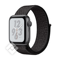 APPLE WATCH NIKE+ SERIES 4 GPS, 40MM SPACE GRAY ALUMINIUM CASE WITH BLACK SPORT LOOP