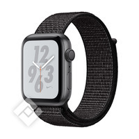 APPLE WATCH NIKE+ SERIES 4 GPS, 44MM SPACE GRAY ALUMINIUM CASE WITH BLACK SPORT LOOP