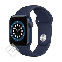 APPLE WATCH SERIES 6 (2020) GPS 40MM BLUE ALU, DEEP NAVY SPORT BAND (MG143NF/A)