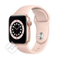 APPLE WATCH SERIES 6 (2020) GPS 40MM GOLD ALU, PINK SAND SPORT BAND (MG123NF/A)