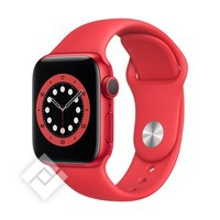 APPLE WATCH SERIES 6 (2020) GPS 40MM RED ALU, RED SPORT BAND (M00A3NF/A)