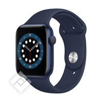 APPLE WATCH SERIES 6 (2020) GPS 44MM BLUE ALU, DEEP NAVY SPORT BAND (M00J3NF/A)