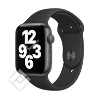 APPLE WATCH SE (2020) GPS 44MM SPACE GREY ALU, BLACK SPORT BAND (MYDT2NF/A)