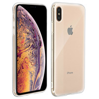 Avizar Coque Apple iPhone XS Max Coque Protection Silicone Souple Ultrafine Transparent