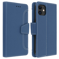 Avizar Housse Apple iPhone 11 Étui Folio Portefeuille Fonction Support bleu
