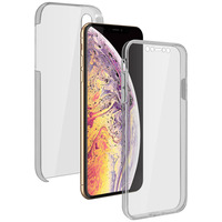 Avizar Coque Apple iPhone XS Max Protection 360° Silicone + Polycarbonate Transparent