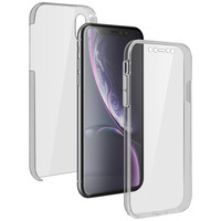 AVIZAR COQUE APPLE IPHONE XR PROTECTION 360° SILICONE + POLYCARBONATE TRANSPARENT