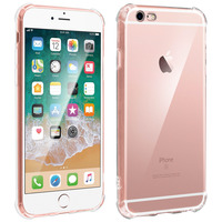 Avizar Coque iPhone 6 et 6S Protection antichoc Coins renforcés Transparent