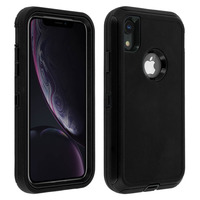 AVIZAR COQUE IPHONE XR PROTECTION RIGIDE MULTI-COUCHES BUMPER ANTICHOCS - NOIR