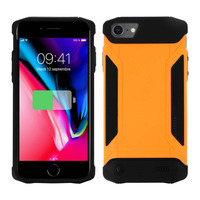 AVIZAR COQUE IPHONE SE 2020/8/7/6/6S PROTECTION RIGIDE ANTICHOC BATTERIE 4000MAH ORANGE