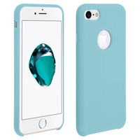 Avizar Coque iPhone 7/8/SE 2020 Protection Souple Soft Touch Anti-rayures Turquoise