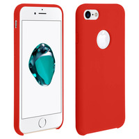 AVIZAR COQUE APPLE IPHONE 7/8 PROTECTION SOUPLE SOFT TOUCH ANTI-RAYURES ROUGE